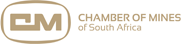 Chamber of mines of South Africa [logo]